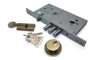 Дверной замок для металлической двери cale